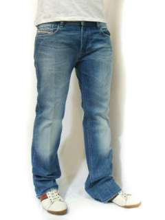 NWT DIESEL Brand Mens Bootcut Jeans Zatiny 8AT