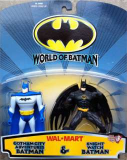 World Of Batman Gotham City Adventures & Knight Watch