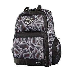 Fox Racing Cyborg Backpack   White/Red/Black Automotive
