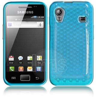 Magic Store   Blue Silicrylic Gel Case For Samsung Galaxy Ace S5830