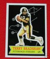 1984 Terry Bradshaw Steelers Football Topps Stars #11