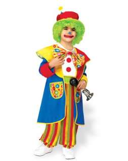 Crazy Clown Toddler Costume