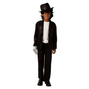 Michael Jackson Deluxe Billie Jean Child Jacket, 70489
