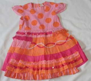 OILILY Carousel Girls Party Princess Dress 116 4 5 6 Easter Special