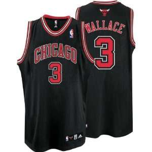 Black adidas NBA Authentic Chicago Bulls Jersey