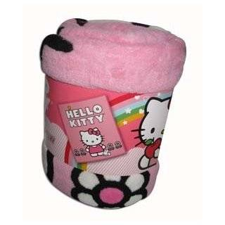 Sanrio Hello Kitty Birthday Cake Plush Throw Pink Large
