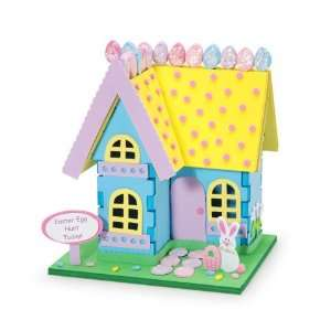 Foamies® 3 D Bunny House Kit Arts, Crafts & Sewing