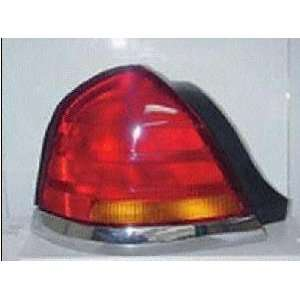 98 05 FORD CROWN VICTORIA TAIL LIGHT LH (DRIVER SIDE), 4