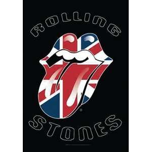 Rolling Stones   UK Tongue Textile Poster