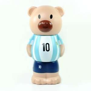 Argentina Messi Bear Shaped Money Coin Bank Large Electronics