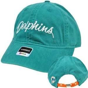 NFL Reebok Miami Dolphins Teal Relaxed Fit Womens Ladies