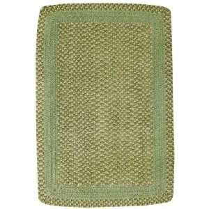 Basketweave Area Rug by Capel Rugs   Garden Green 280