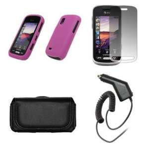 Samsung Solstice A887 Premium Black Leather Carrying