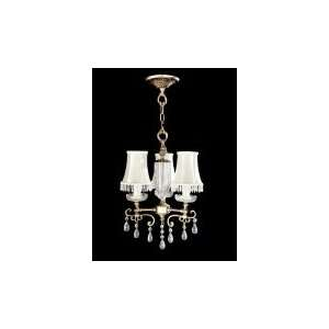 Dale Tiffany Frontera 3 Light Mini Chandelier GH70235