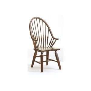 Attic Heirlooms Windsor Arm Chair in Natural Oak (Set of 2)   Broyhill