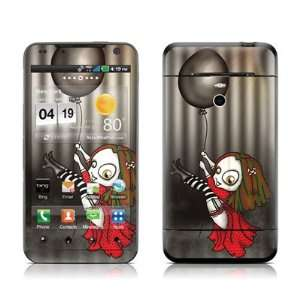 Black Balloon Design Protective Skin Decal Sticker for LG Revolution