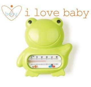 RK Green Frog Waterproof Baby Safety Bath Thermometer