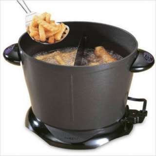 Presto Dual Daddy Electric Deep Fryer 05450 075741054506