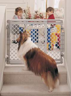 North States Walk Thru Stairway Pet Dog Gate NS8679