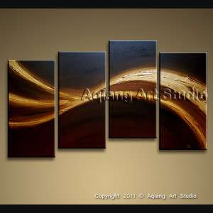 Textured Abstract Canvas Wall Art Modern Oil Painting Mystery G112